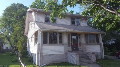 Painesville OH Single Family Home For Sale: $20,000