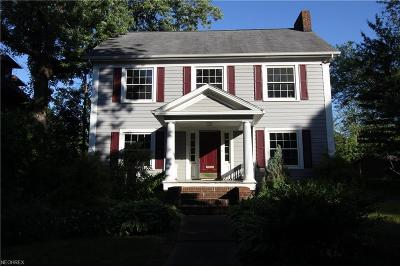 Cleveland Heights Single Family Home For Sale: 2460 Kenilworth Rd