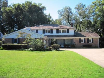 Shaker Heights Single Family Home For Sale: 22750 Shaker Blvd