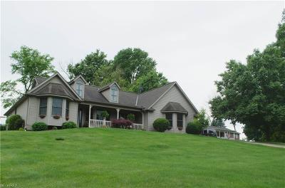 Muskingum County Single Family Home For Sale: 2750 Tarkman Dr