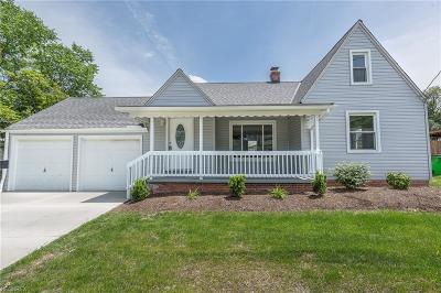 Wickliffe Single Family Home For Sale: 1521 Harding Dr