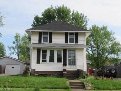 Single Family Home For Sale: 656 West Oregon Ave