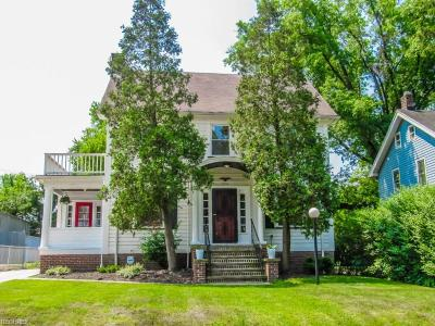 Cleveland Heights Single Family Home For Sale: 3174 Essex Rd