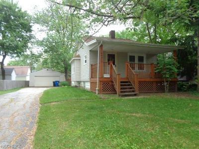 Bay Village Single Family Home For Sale: 449 Kenilworth Rd