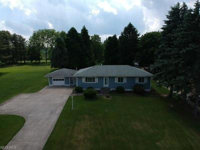 Wadsworth Single Family Home For Sale: 2834 South Medina Line Rd