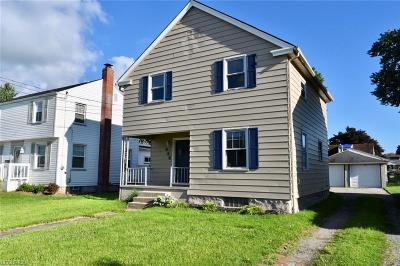 Struthers Single Family Home For Sale: 444 West Wilson St