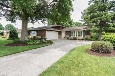 Broadview Heights Single Family Home For Sale: 4963 Millwood Dr