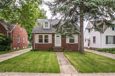 Cleveland Single Family Home For Sale: 4205 West 140th St
