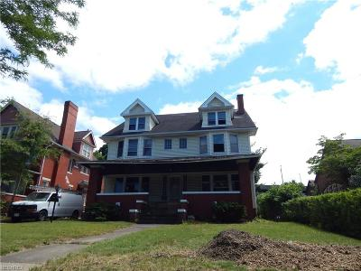 Cleveland Single Family Home For Sale: 10624 Wade Park Ave
