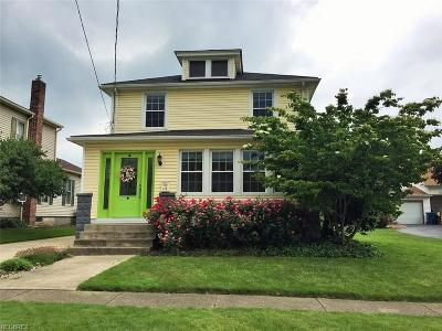 Newton Falls Single Family Home For Sale: 114 South Center St