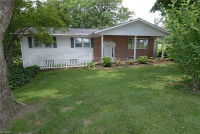 Muskingum County Single Family Home For Sale: 2885 Boggs Rd