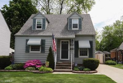 Cleveland Single Family Home For Sale: 3461 West 159th St