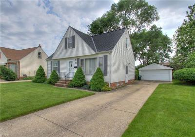Lake County Single Family Home For Sale: 1666 Ridgeview Dr