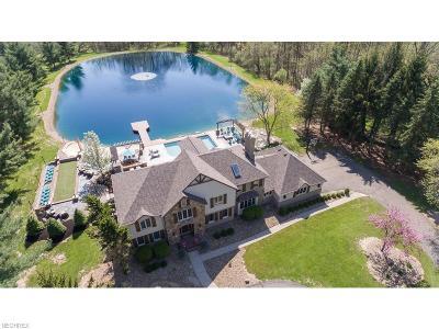 Medina Single Family Home For Sale: 4609 Beach Rd