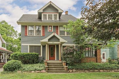 Cleveland Heights Single Family Home For Sale: 3111 Scarborough Rd