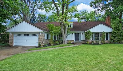 Shaker Heights Single Family Home For Sale: 24101 Hazelmere Rd