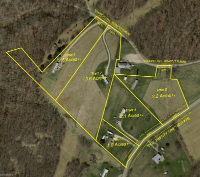 Guernsey County Residential Lots & Land For Sale: 75337 Old Twenty One Rd