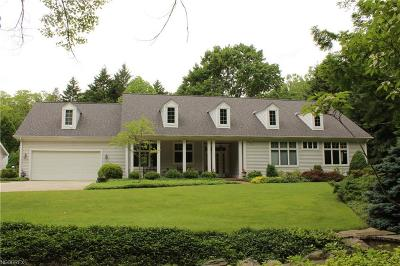 Willoughby Hills Single Family Home For Sale: 36921 Rogers Rd