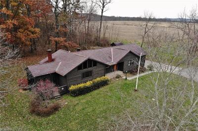 Muskingum County Single Family Home For Sale: 3625 Gorsuch Rd