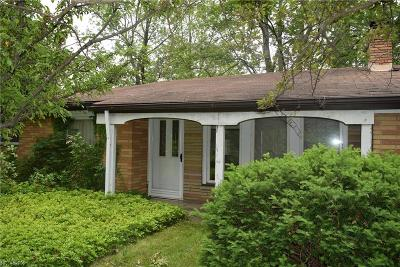 Mentor Single Family Home For Sale: 7543 Chillicothe Rd