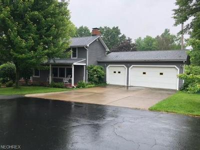 Canfield Single Family Home For Sale: 1025 Fox Den Trl
