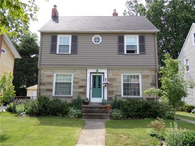 Cleveland Single Family Home For Sale: 3451 Granton Ave