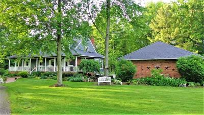 Geauga County Single Family Home For Sale: 11680 Butternut Rd