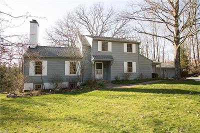 Geauga County Single Family Home For Sale: 10070 Mitchell's Mill