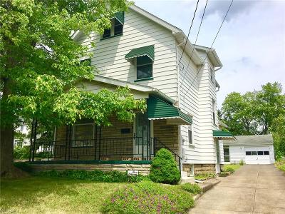 Girard OH Single Family Home For Sale: $54,900