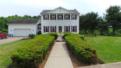 Guernsey County Single Family Home For Sale: 9364 Read Rd