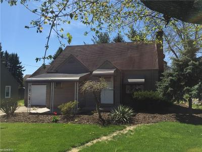 Struthers Single Family Home For Sale: 88 Helena Dr
