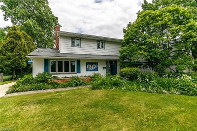 Shaker Heights Single Family Home For Sale: 3271 Van Aken Blvd