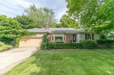Rocky River Single Family Home For Sale: 3349 Wooster Rd