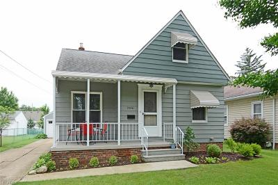 North Olmsted Single Family Home For Sale: 23541 Marion Rd