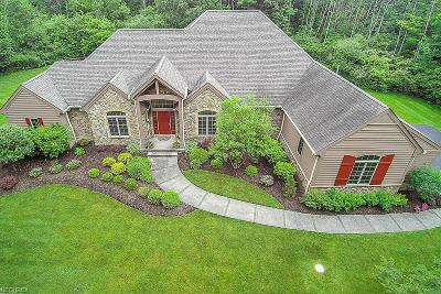 Geauga County Single Family Home For Sale: 15685 Gamekeepers Trl