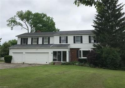 Geauga County Single Family Home For Sale: 16650 Snyder Rd