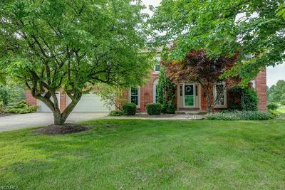 Geauga County Single Family Home For Sale: 8892 Lake In The Woods Trl