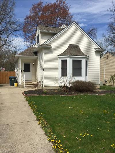 Avon Lake Single Family Home For Sale: 144 Fay Ave