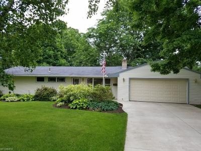 Poland Single Family Home For Sale: 6033 Frontier Dr