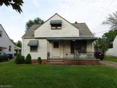 Single Family Home For Sale: 3965 West 151st St