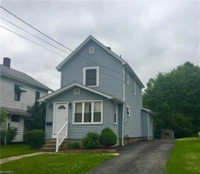 Struthers Single Family Home For Sale: 90 Harvey St