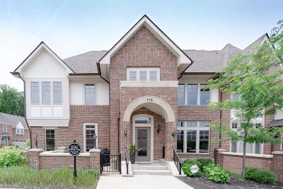 Cuyahoga County Condo/Townhouse For Sale: 172 Vine St