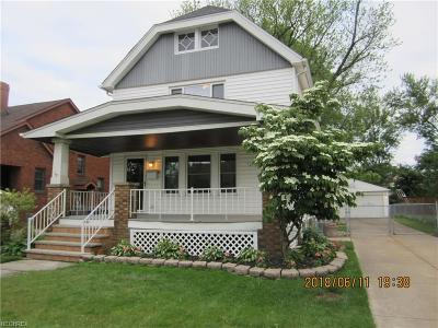 Cleveland OH Single Family Home For Sale: $134,900