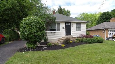 Painesville OH Single Family Home For Sale: $95,900