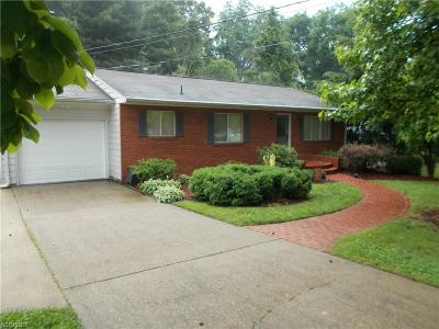 Marietta OH Single Family Home For Sale: $139,900