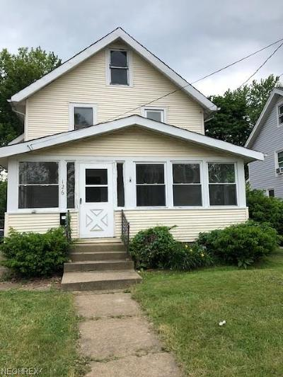 Painesville OH Single Family Home For Sale: $45,000