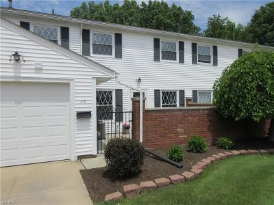 Mentor Condo/Townhouse For Sale