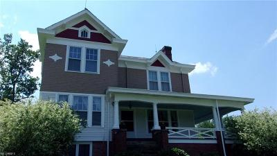 Zanesville Single Family Home For Sale: 105 Whites Rd