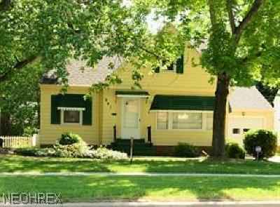 South Euclid Single Family Home For Sale: 991 West Green Rd