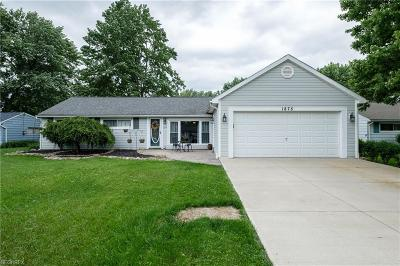 Twinsburg Single Family Home For Sale: 1875 Edgewood Dr